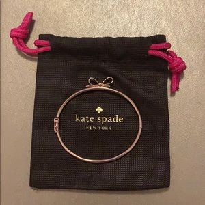 Kate spade Love Notes Bangle Bow Bracelet